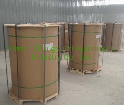 eye to sky for coted aluminum coil