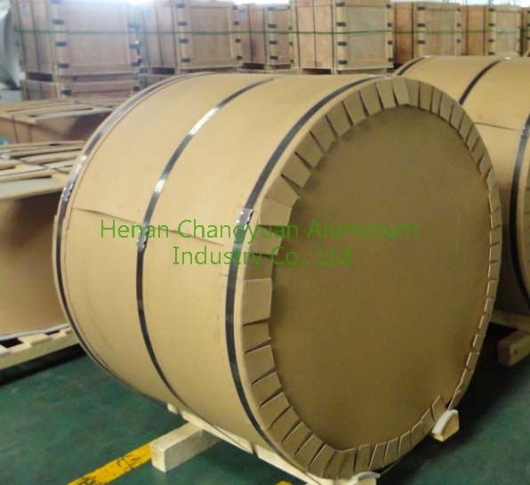 eye to wall for coated aluminum coil